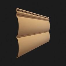 Виниловый сайдинг Döcke Premium Блок-Хаус (D4 7T) Карамель
